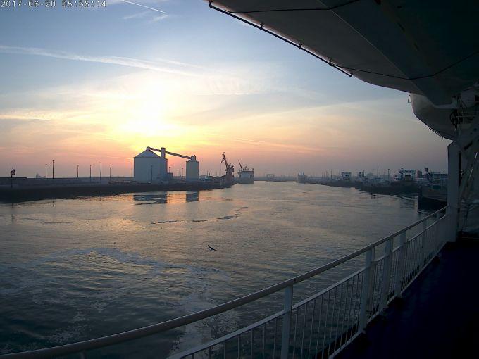Photo départ Calais