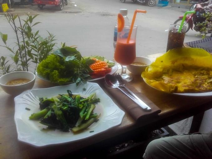 Photo repas cambodgien